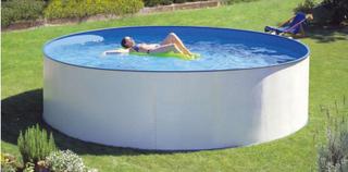Clear Pool Stålväggspool Almeria 350 cm