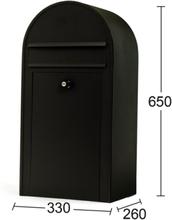 Habo Postlåda 9444 Midi Svart