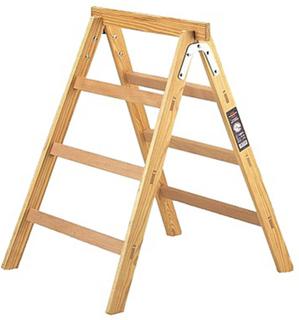 Brennenstuhl trappestige/arbejdsbuk HAB 150 150 kg træ 1485010