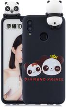 Huawei P Smart 2019 Søt 3d-Figur Etui Med Mønster - Pandaer