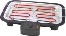 Tristar Elektrisk bordsgrill BQ-2813 38x22 cm 2000 W svart