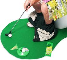 Toalett Golf Sett