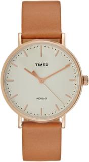 Timex THE FAIRFIELD Ure cream/brown