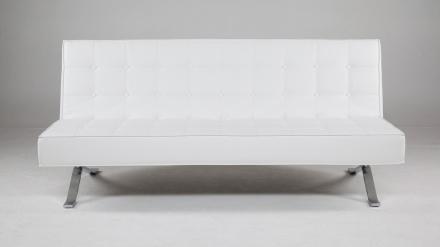 Pantern - Bäddsoffa futon - Vit
