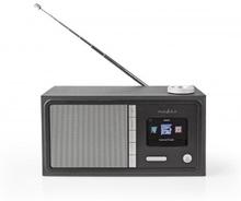 Internetradio | 18 W | FM | Bluetooth® | Fjärrkontroll | Svart
