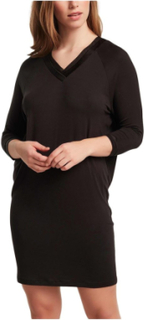 Eloise Big Shirt 3-4 Sleeve Black