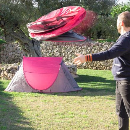 Pop-up telt - fargevalg