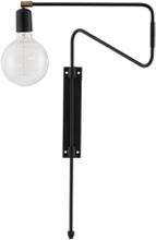 House Doctor Swing væglampe sort - 35 cm