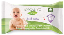 Organyc Baby Vådservietter (60 stk)