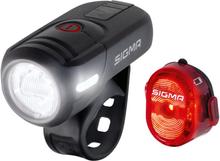 Sigma Aura 45 USB + Nugget II Lampset Set med fram- och baklampa