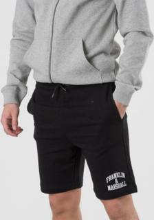 Franklin & Marshall, Badge Logo Sweat Shorts, Sort, Shorts till Dreng, 10-11 år