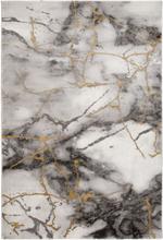 Maskinvävd matta - Craft Concrete Guld - 80x350 cm