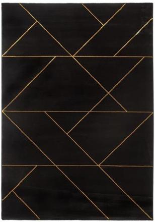 Maskinvävd matta - Deluxe Royal Guld - 160x230 cm
