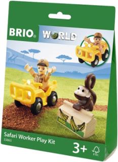 BRIO World - 33865 Safarileksaksfigur med apa