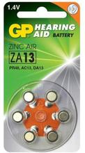 GP ZA 13-D6 Hörapparatsbatteri