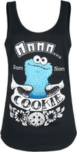Sesam Stasjon - Nom-Nom - Cookie -Topp - svart