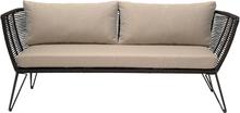 Bloomingville - Sofa 74x175cm H72cm, Sort