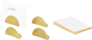 Ferm Living - Card Holder 4-Pack, Brass