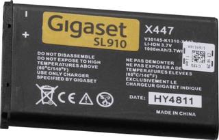 Gigaset S30852-D2370-X1 Trådlös telefon batteri Passar till märke: Gigaset Li-Ion 3.7 V 1000 mAh