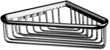 Kriss Athena hjørne trådkurv 176 x 176 x 60 mm, krom