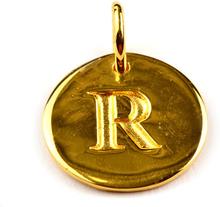 Beloved Letter Gold R, ONESIZE