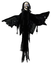 Halloween angel of death figure