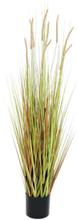 Fountain grass bush, artificial plant, 120cm