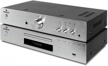 "Elegance Tower"" 2.0 HiFi Set CD-Player USB 600W Stereo-RCA Digital-Out"