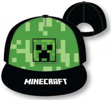 Keps Grön Minecraft Mått 54