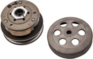 Converter + Clutch +Clutch Bell compatible for Peugeot Speedfight 1 2 3 107mm 3-shoe clutch