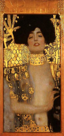 Judith, Gustav Klimt, 80x40cm