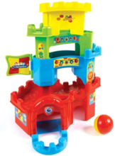 Stack Tower Castle with Ball Track