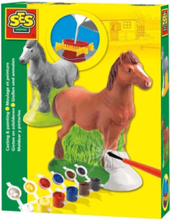 Plaster Casting-Horse
