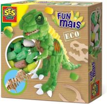 Funmais Dino with Wooden Skeleton