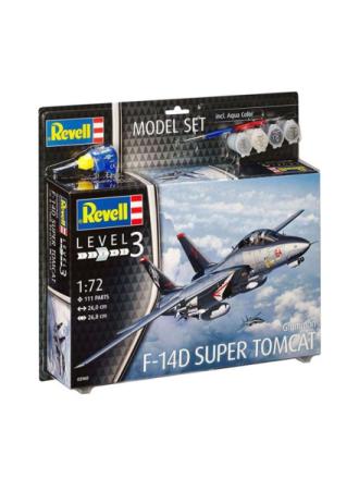 Model Set Grumman F-14D Super Tomcat Airpla