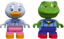 235 - Play Figures Duck and Frog