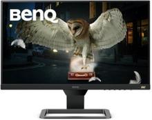 """BenQ EW2480 - LED-skärm - 23.8"""" - 1920 x 1080 Full HD (1080p) @ 60 Hz - IPS - 250 cd/m² - 1000:1 - 5 ms - HDMI - högtalare - svart, grå-metallic"""