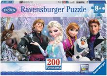 Disney Frozen Panorama puzzle 200st.