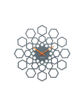 Sunshine Hexagon Wall Clock