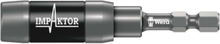 897/4 IMP R Impaktor Halter mit Ringmagnet und Sprengring, 1/4 Zoll x 75 mm