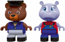 234 - Play Figures Bear and Hippo