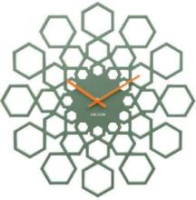 Sunshine Hexagon Wall Clock