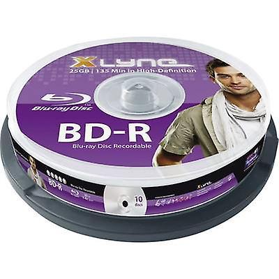 Blank Blu-ray BD-R 25 GB Xlyne 8010000 10 computer(e) Sp
