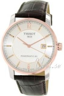Tissot T087.407.56.037.00 Tissot T-Classic Sølvfarget/Lær Ø40 mm
