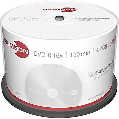Tom DVD-R 4,7 GB Primeon 2761204 50 computer(e) Spindl