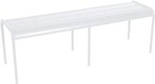 Fermob Luxembourg Benk 145 cm -Cotton White