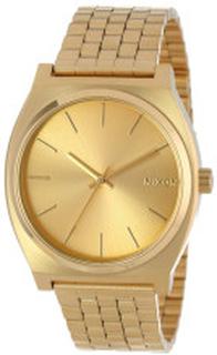 Nixon A045511-00 The Time Teller Guldfarvet/Gul guldtonet stål Ø37 mm