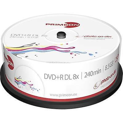 Tom DVD + R DL 8,5 GB Primeon 2761252 25 computer(e) Spi