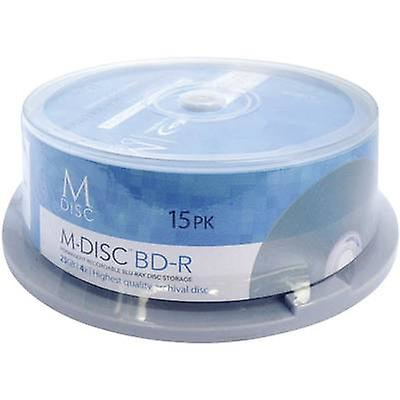 Blank M-Disc Blu-ray DVD 25 GB Millenniata MDBD015 15 computer(e)