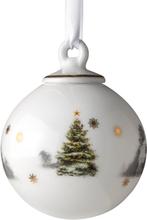 Julemorgen joulupallo, pieni Talo